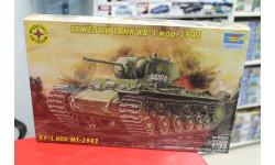 303527 Тяжелый танк КВ-1 мод.1942 г. 1:35 Моделист возможен обмен, сборные модели бронетехники, танков, бтт, scale35