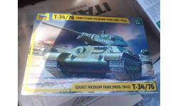 3535 Танк 'Т-34/76' образца 1942г. 1:35 Звезда возможен обмен