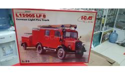 35527 L1500S LF 8, Германский легкий пожарный автомобиль 2МВ  1:35 ICM возможен обмен