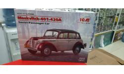 35484 Москвич-401-420А, Советский легковой автомобиль  1:35 ICM возможен обмен