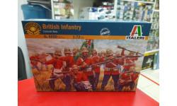 6050ИТ British Infantry (Zulu War) 1:72 Italeri  Возможен обмен