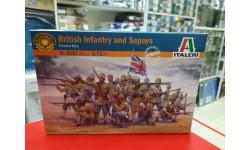 6187ИТ BRITISH INFANTRY and SEPOYS (Colonial Wars)  1:72 Italeri   Возможен обмен