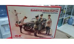 35480 Kadett K38 седан, с Германской дорожной полицией  1:35 ICM возможен обмен