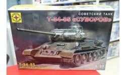 303532 Советский танк Т-34-85 'Суворов' 1:35 Моделист возможен обмен, сборные модели бронетехники, танков, бтт, scale35