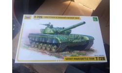 3550 танк  Т-72Б 1:35 Звезда возможен обмен