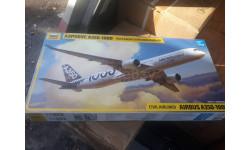 7020 Пассажирский авиалайнер Аэробус А-350-1000 1:144 Звезда возможен обмен