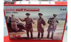 35612 Советские генералы (2МВ) 1:35 ICM возможен обмен, миниатюры, фигуры, MiniArt, scale35