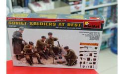 MA35109 Советские солдаты на отдыхе 1:35 Miniart  возможен обмен, миниатюры, фигуры, 1/35