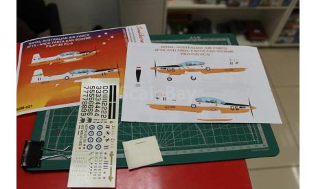 Декаль Royal Australian Air Force Pilatus PC-9 1:72 возможен обмен, фототравление, декали, краски, материалы, scale72