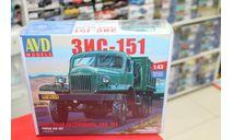 1332 ЗИС-151 бортовой 1:43 AVD возможен обмен, сборная модель автомобиля, AVD Models, scale43