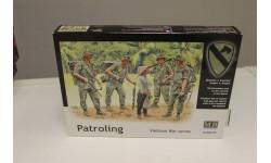 3599 Патрулирование.Война во Въетнаме 1:35 MasterBox, миниатюры, фигуры, 1/35, Master Box