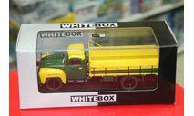 Chevrolet C 6500 - 1958 (yellow/dark green) 1:43 Whitebox  возможен обмен, масштабная модель, Volvo, scale43