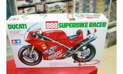 14063 Ducati 888 Superbike 1:12 Tamiya Возможен обмен, сборная модель мотоцикла, scale12