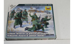 6198 Немецкая пехота в зимней форме  1:72 Звезда возможен обмен, миниатюры, фигуры, scale0