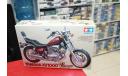 14044 Yamaha Virago XV1000 1:12 Tamiya Возможен обмен, сборная модель мотоцикла, scale12