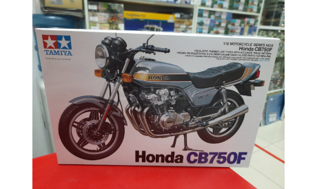 14006 Honda CB750F 1:12 Tamiya возможен обмен, сборная модель мотоцикла, Toyota, scale12