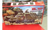 72551 Зил-157 КП Грузовик 1:72 ICM возможен обмен, сборные модели бронетехники, танков, бтт, scale72