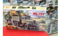 72541 Зил-157 Грузовик 1:72 ICM возможен обмен, сборные модели бронетехники, танков, бтт, scale72