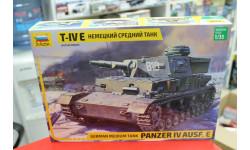 3641  Немецкий танк Т-IV E  1:35 Звезда возможен обмен, сборные модели бронетехники, танков, бтт, scale35