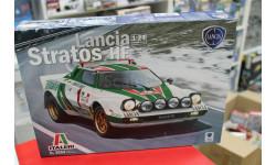 3654ИТ Автомобиль LANCIA STRATOS HF 1:24 Italeri возможен обмен, сборная модель автомобиля, Italieri, scale24