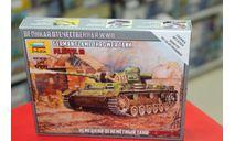 6162 Немецкий огнеметный танк Pz.III 1:100 Звезда возможен обмен, сборные модели бронетехники, танков, бтт, 1/100