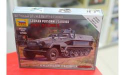 6127 SD.KFZ.25I/I AUSF.B 'Ханомаг' 1:100 Звезда возможен обмен, сборные модели бронетехники, танков, бтт, scale100