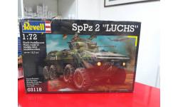 03118 SpPz 2 Luchs 1:72 Revell возможен обмен, сборные модели бронетехники, танков, бтт, 1/72