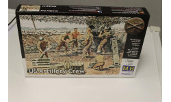 MB3577 Фигурки Артиллерийский расчет, США 1:35 MasterBox, миниатюры, фигуры, 1/35, Master Box