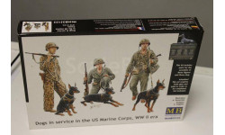 MB35155 Dogs In Service In The US Marine Corps WW  1:35 MasterBox