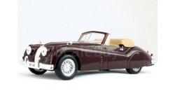 Суперкары №4 Jaguar XK140, журнальная серия Суперкары (DeAgostini), 1:43, 1/43, ВАЗ
