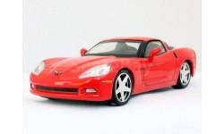 Суперкары №6 Chevrolet Corvette Z51 coupe, журнальная серия Суперкары (DeAgostini), 1:43, 1/43, ВАЗ