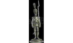 Фузелер-гренадер императорской гвардии, Франция 1806-14 54  54 мм Металл Ekcastings