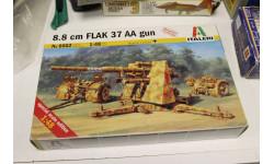 6602 8.8 cm FLAK 37AA gun 1:48 Italeri