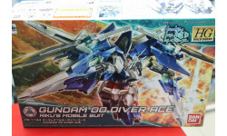 009 Gundam OO Diver Ace 1:144 Ban Dai возможен обмен, миниатюры, фигуры, scale144