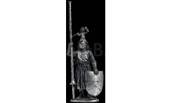 Немецкий рыцарь Ульрих фон Лихтенштейн, умер 1275 70 54 мм Металл Ekcastings