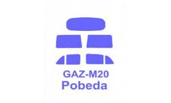 Газ-М20 Победа Military Wheels набор окрасочных масок 1:72 72306 KV-Model