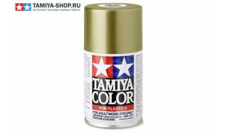 85084 TAMIYA TS-84 Metallic Gold (Металлическое золото) краска-спрей 100 мл., фототравление, декали, краски, материалы, scale0