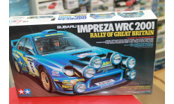 24250 SUBARU IMPREZA WRC 2001 Rally of Great Brit. 1:24 Tamiya   возможен обмен, масштабная модель, scale24