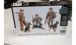 35155 Dogs In Service In The US Marine Corps WW 1:35 MasterBox  Возможен обмен, миниатюры, фигуры, scale0