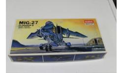 1654 МИГ-27  1:72 Academy, сборные модели авиации, 1/72