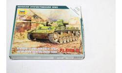 6162 Немецкий огнеметный танк Pz.III 1:100 Звезда  возможен обмен