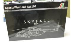 Обмен 1332 вертолет  Agusta-Westland AW-101 SKYFALL 1:72 Italeri, сборные модели авиации, 1:48, 1/48