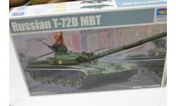 05598  танк Т-72Б  1:35 Trumpeter  возможен обмен, сборные модели бронетехники, танков, бтт, 1:100, 1/100