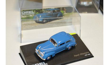OPEL OLYMPIA  1951-1953 Blue 1:43 IXO Opel Collection, масштабная модель, 1/43