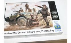35195 Бундесвер. Немецкие военнослужащие, наши дни 1:35 MasterBox  Возможен обмен, миниатюры, фигуры, scale0