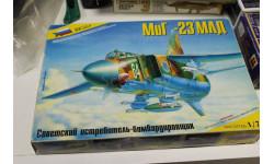 7218 МИГ-23 МЛД старый выпуск 1:72 звезда