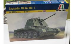Обмен. 6465  CRUSADER III AA MK.I  1:35 Italeri, сборные модели бронетехники, танков, бтт, 1/35