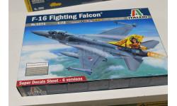Обмен 1271  F-16 Fighting falcon 1:72 Italeri, сборные модели авиации, 1/72