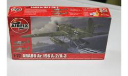 Обмен. 02019 Arado Ar. 196 A-2 A-3 1:72 Airfix, сборные модели авиации, 1/72