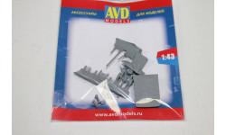 Электротележка, 1 шт. 1:43  AVD  Возможен обмен, сборная модель автомобиля, scale0